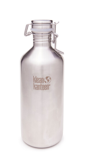 Klean Kanteen Classic Growler Drinkfles met Swing Lok Cap 1182 ml grijs